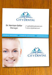 Dentist and Dental Business Card Template