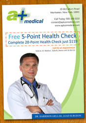 Doctor Clinic Flyer Template