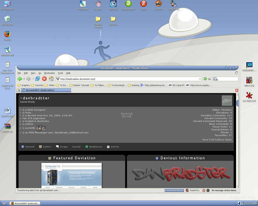Desktop by danbradster