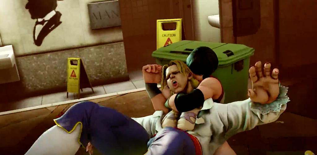 Street Fighter V- R. Mika-LOL vega! by DemonicSouth