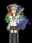 Contest entry: Rainbow no Shana by xMissJoJo
