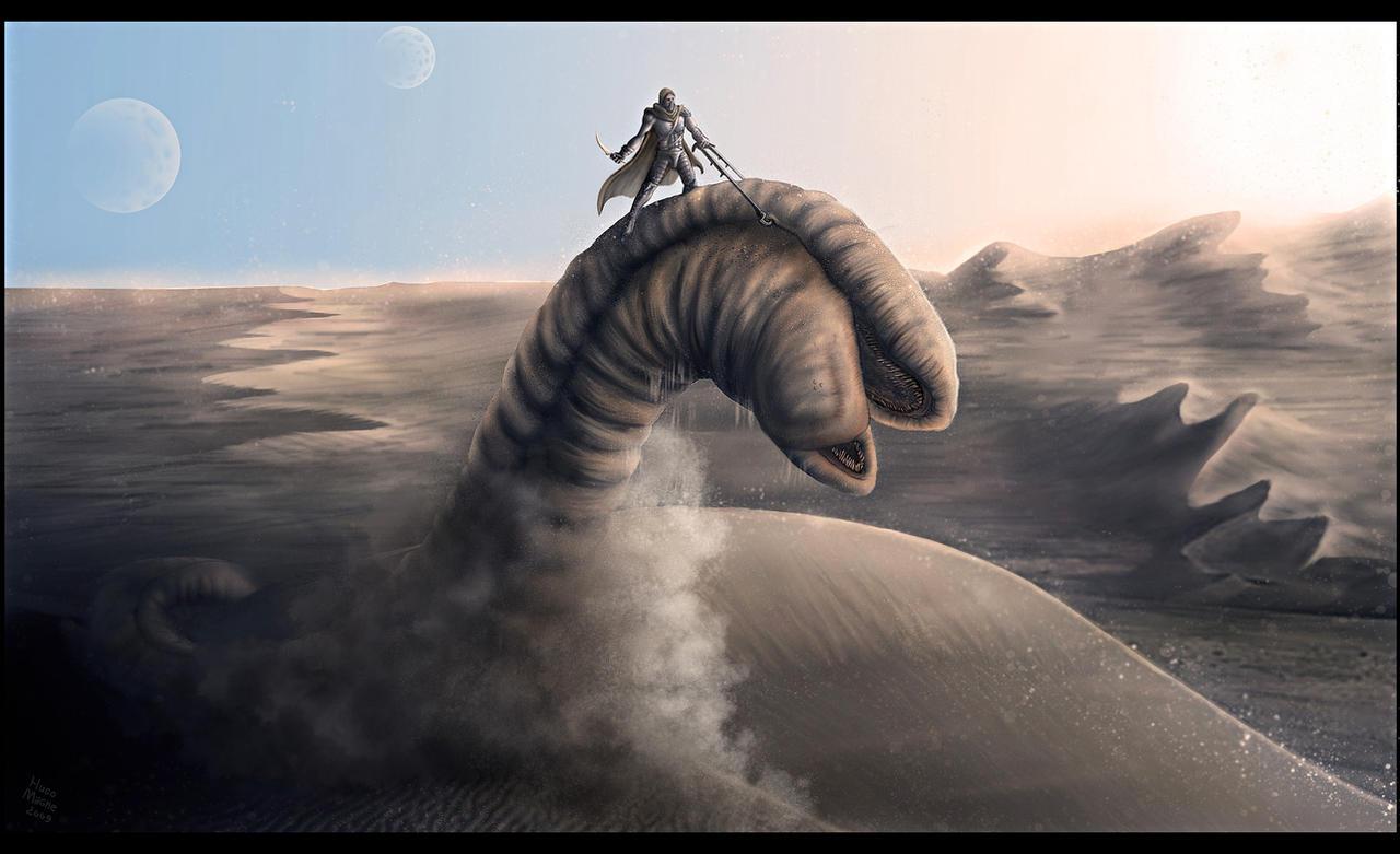 Dune - Ride the sandworm