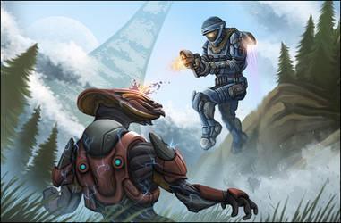 Halo Reach : Invasion