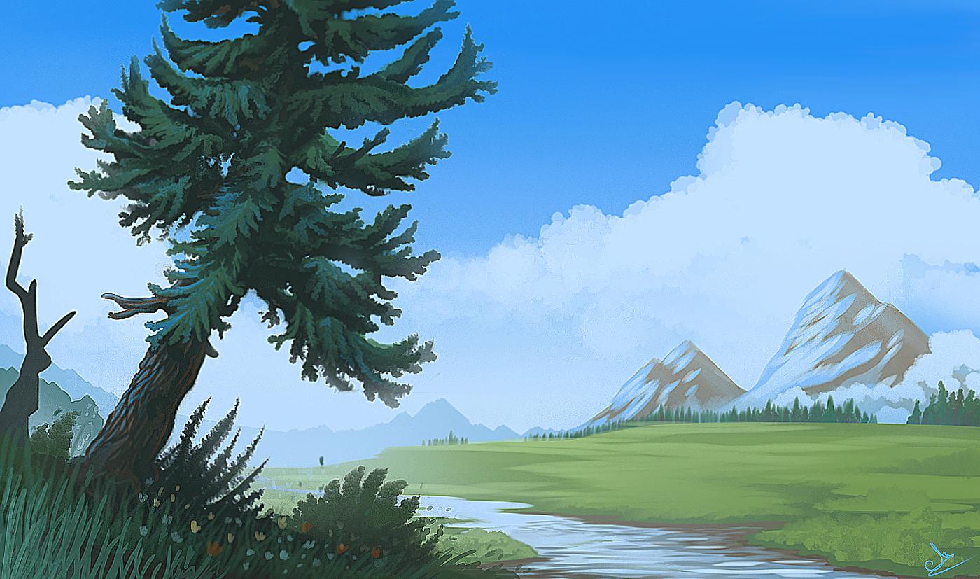 High landscape