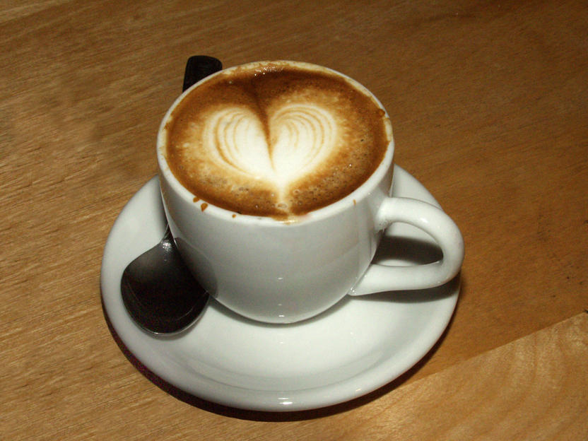 macchiato heart by eatbrian