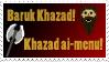 Baruk Khazad stamp