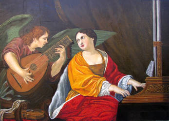 St.Cecilia by halupka