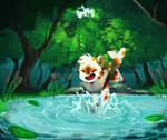 [Nekoi Island] - Pond Jumping
