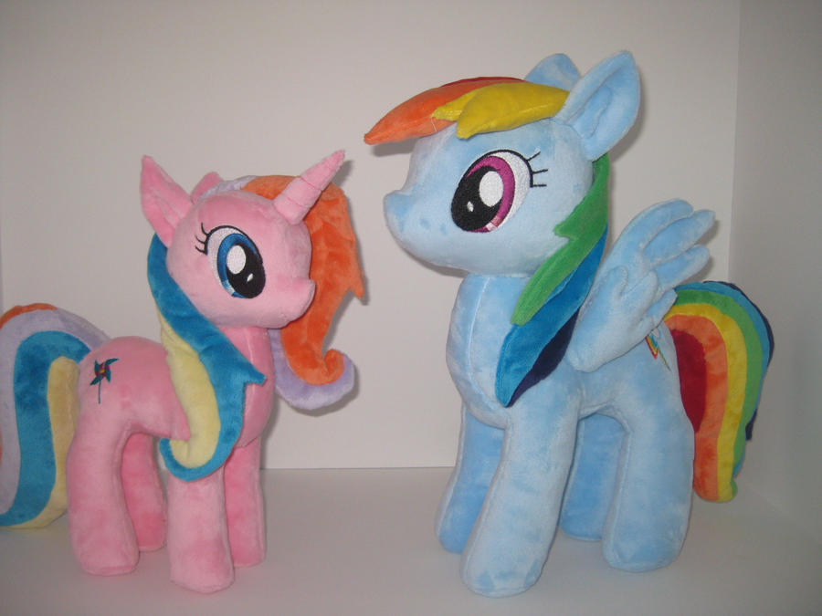 Rainbow Dash Custom Plush - 20% larger by GreenTeaCreations