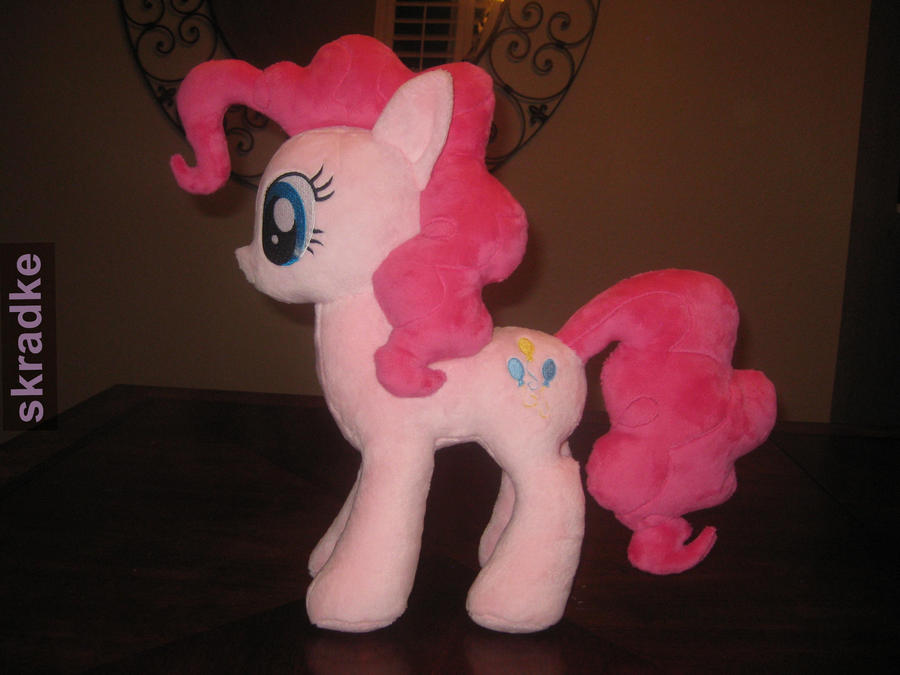 Pinkie Pie custom Plush by GreenTeaCreations