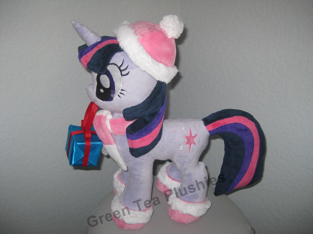 Winter Twilight Sparkle plush. by GreenTeaCreations