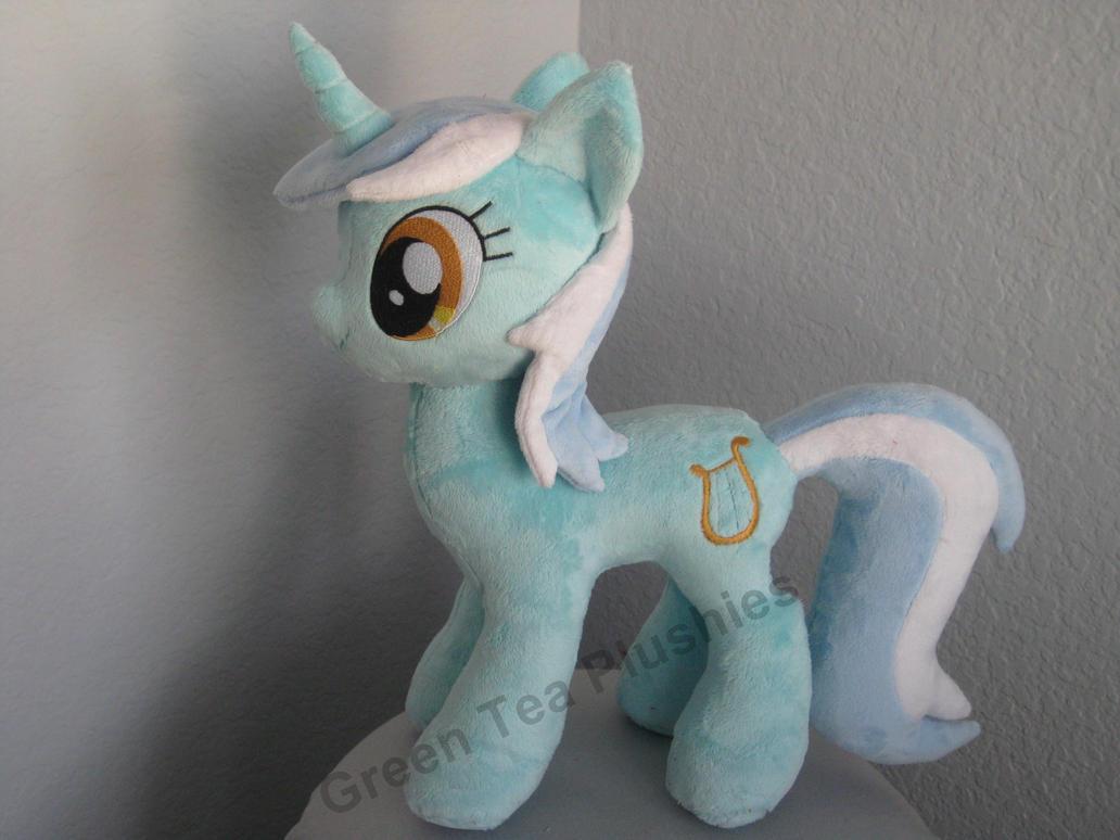 Lyra Heartstrings Plush by GreenTeaCreations