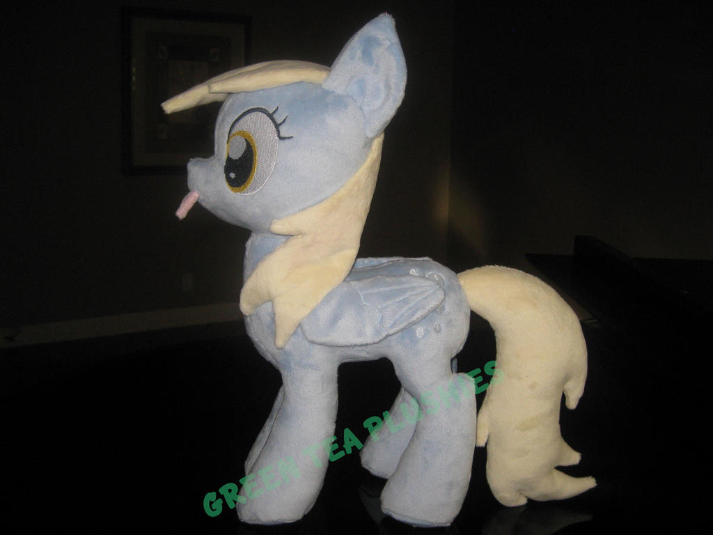 Derpy Plush by GreenTeaCreations