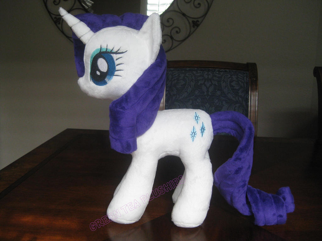 Yet Another Rarity Plush by *GreenTeaPlushies