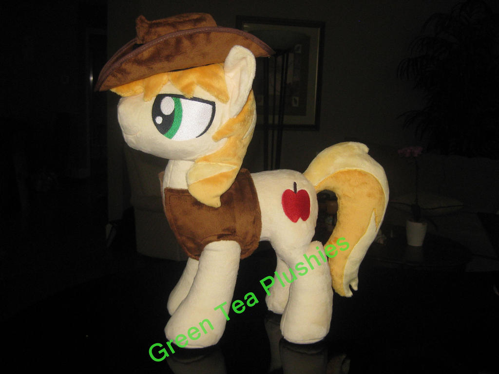 Braeburn Plush commission by GreenTeaCreations