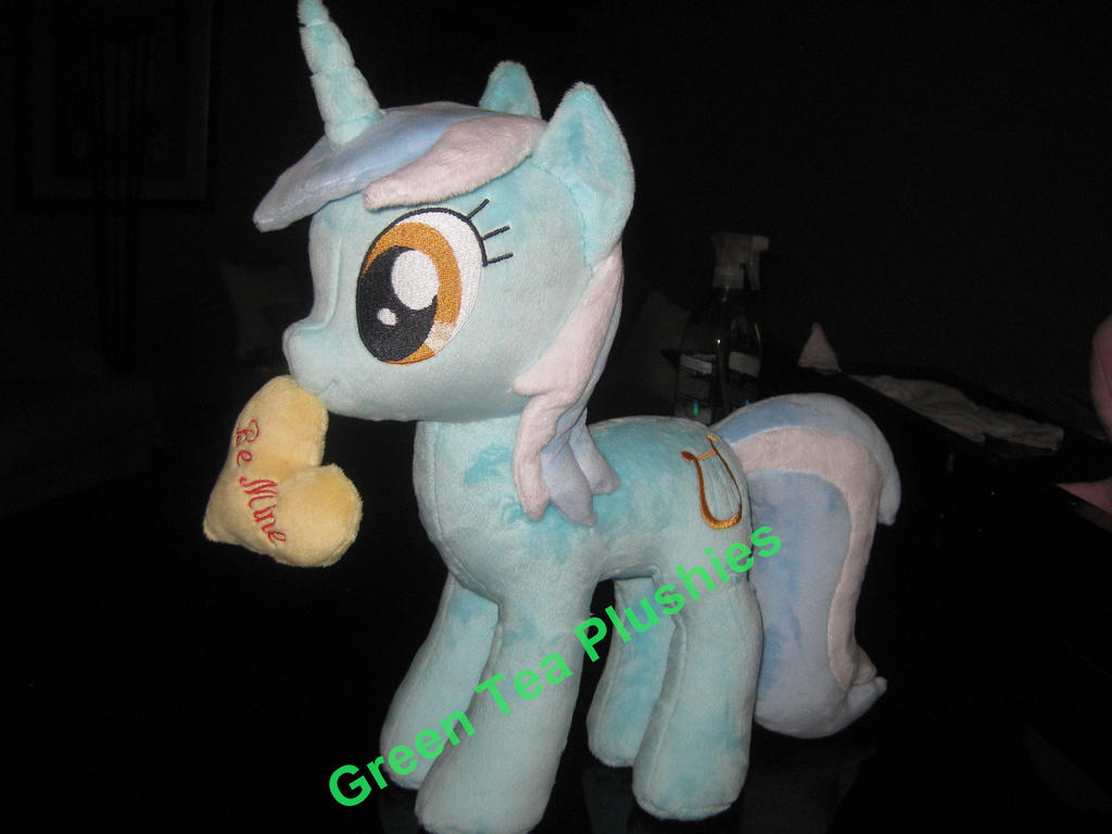 Lyra Heartstrings Plush by GreenTeaCreations