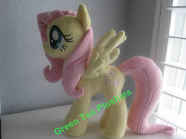 Another Fluttershy Plush commission by GreenTeaCreations