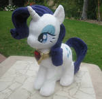 Rarity Plush with fire ruby necklace
