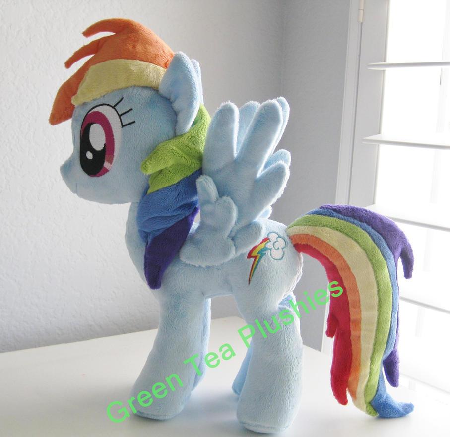 Rainbow Dash by GreenTeaCreations