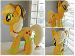 Applejack plush with hat
