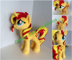 Repentant Sunset Shimmer by GreenTeaCreations