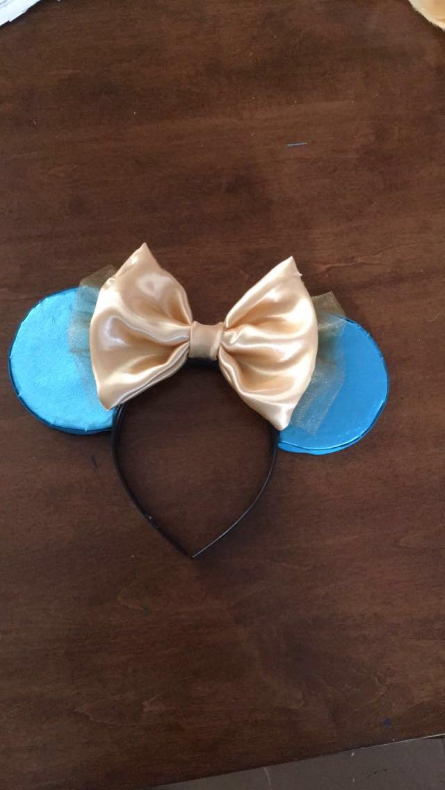 Princess Jasmine mouse ears by GreenTeaCreations