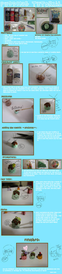 Pudding clay tutorial