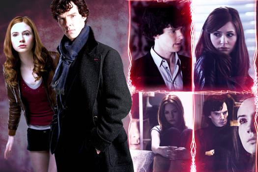 Amy Pond and Sherlock Holmes