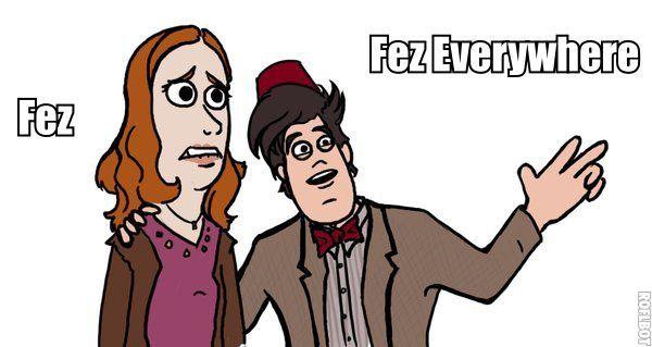 Fez Everywhere by FunnyDank