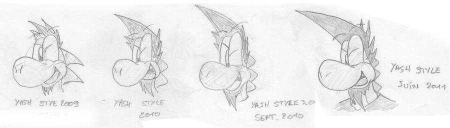 Galerie Ash_Killer - Page 7 Yash_style_evolution_by_deviluigi-d3jf9yr