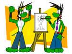 Draw me a Yoshi!