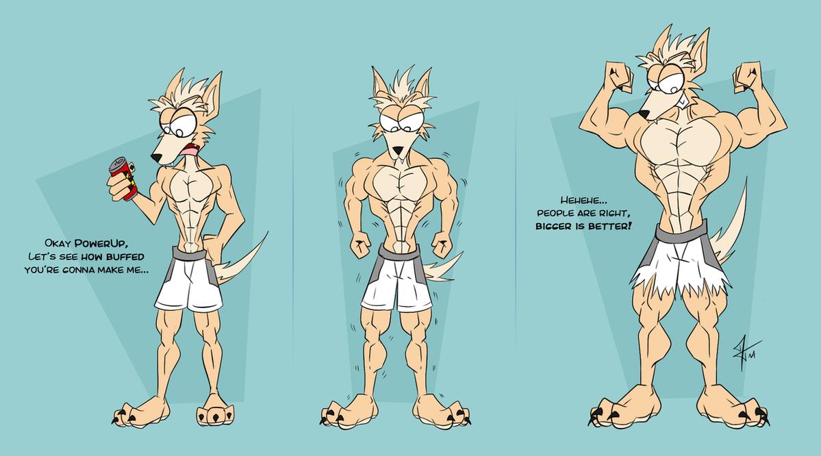Slim Fast - AR/Muscle Growth by CrisKane on DeviantArt