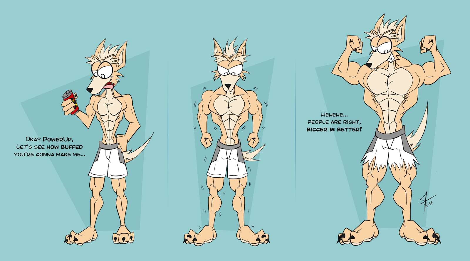 Umber's Muscle Growth By McTaylis On DeviantArt