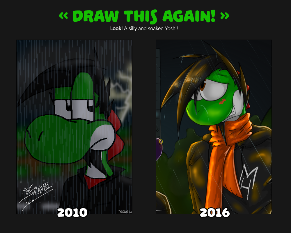 Draw this again! - Yash under the rain by McTaylis