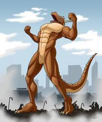 Commission - Kaiju Demron by McTaylis