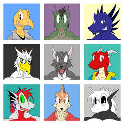 A bunch of silly guys