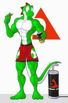 Growshi, PowerUP mascot