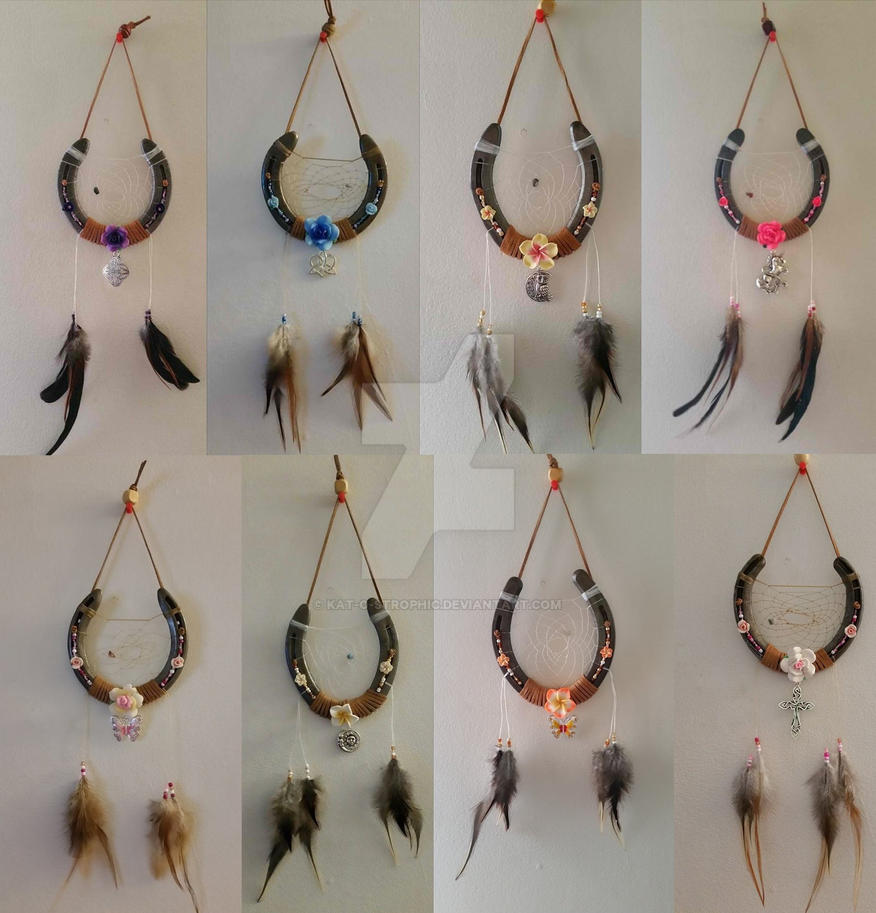 Horse Shoe Dream Catchers For Sale by Kat-O-strophic on ...