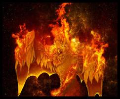 Creature Concept: Phoenix by kkako