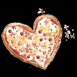 Heart Pizza By Rosemoji On Deviantart