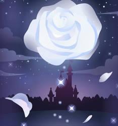 Moon Rose by Rosemoji