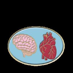 Brain And Heart by Rosemoji