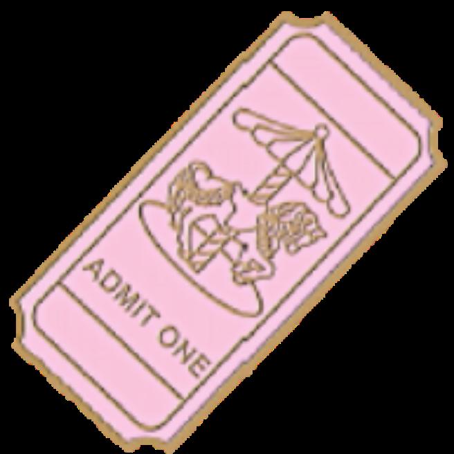 Ticket by Rosemoji