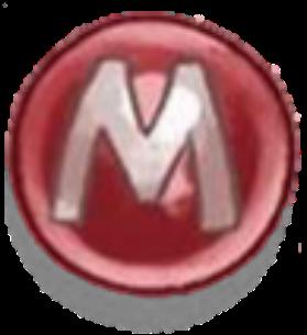 M (Ball) by Rosemoji