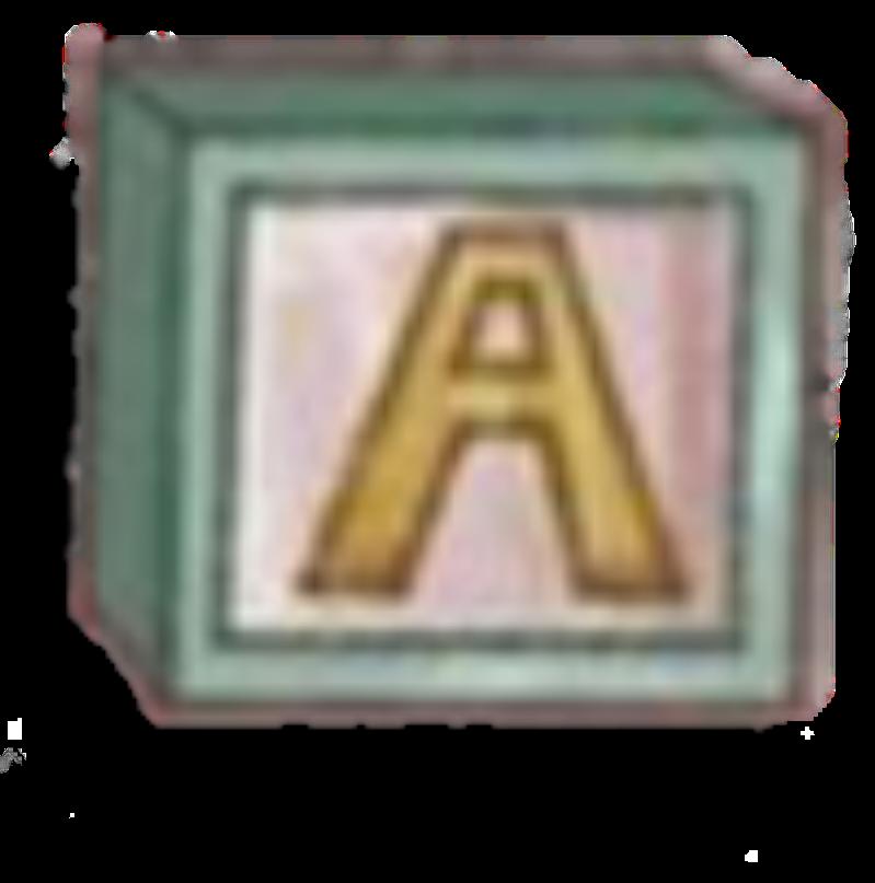 A (Block) by Rosemoji