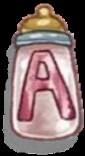 A (Bottle) by Rosemoji