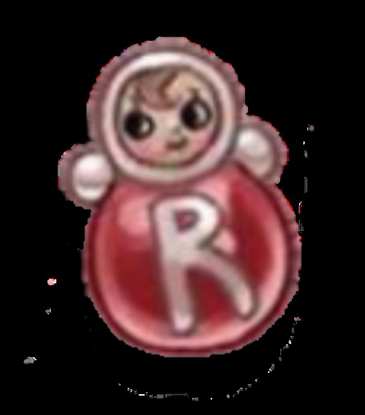 R (Rubberface Doll) by Rosemoji