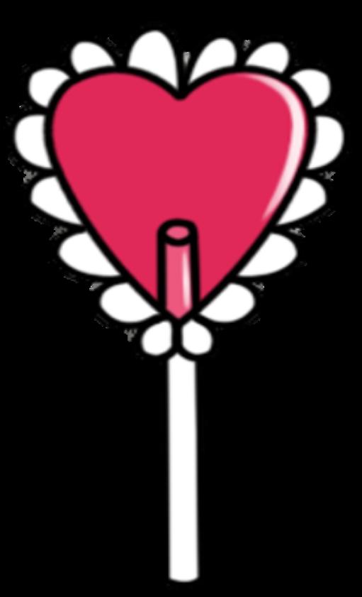 Heart Lollipop by Rosemoji