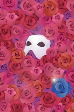Blue Rose and Opera Mask by Rosemoji