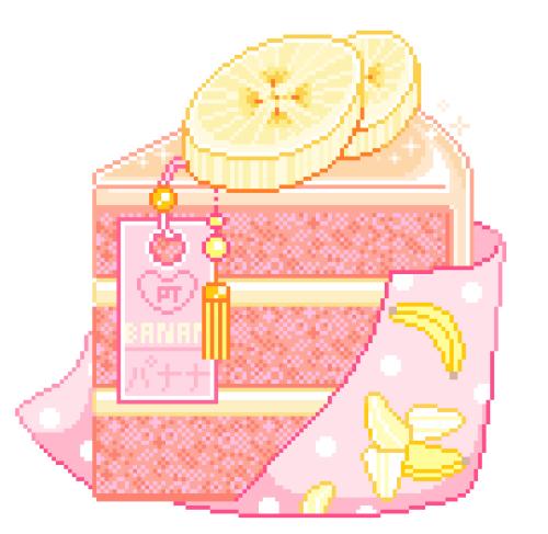 Banana Cake by Rosemoji